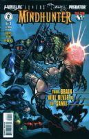 Mindhunter (Witchblade Aliens Darkness & Predator Crossover) - Issues 1 to 3 - Full Set of 3 Comics